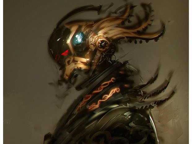 Samurai Cyberpunk