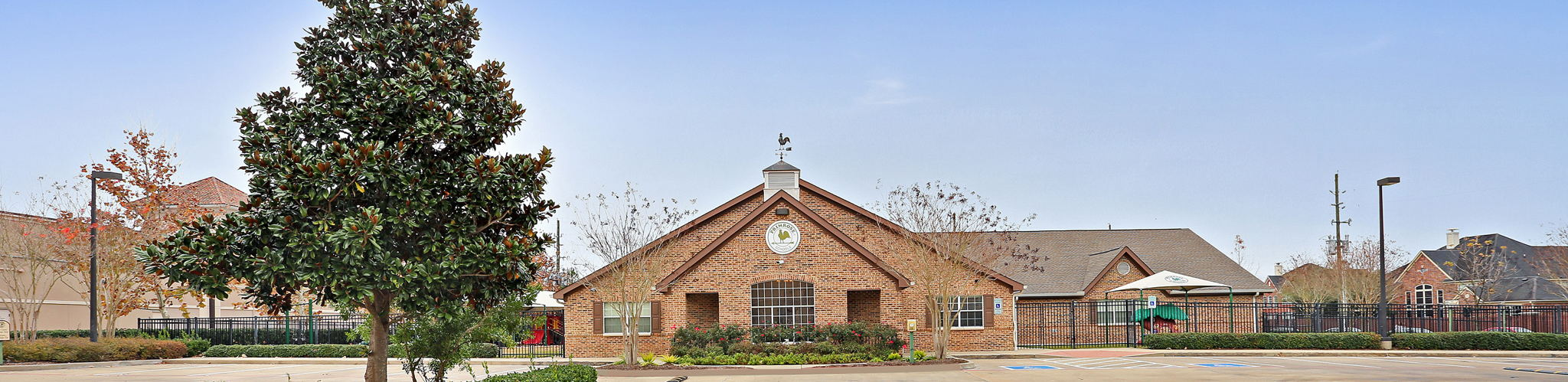 Exterior of a Primrose School at Waterside Estates