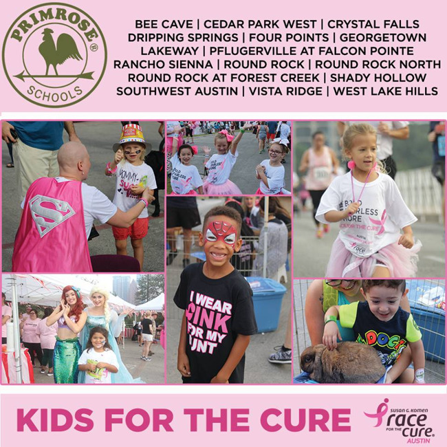 kids race for the cure