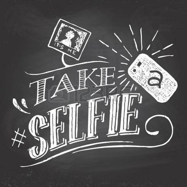 """""""Take selfie"""" poster"""