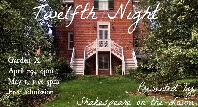Shakespeare on the Lawn Presents: Twelfth Night [in the Garden]