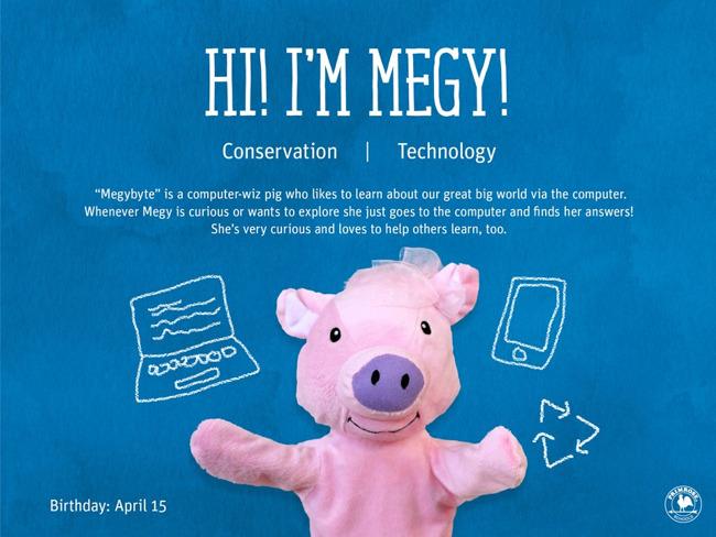 megy the pig