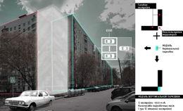 Вертикальные парковки в спальных районах