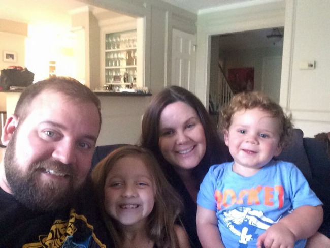 The Gouge family, family of the month for August