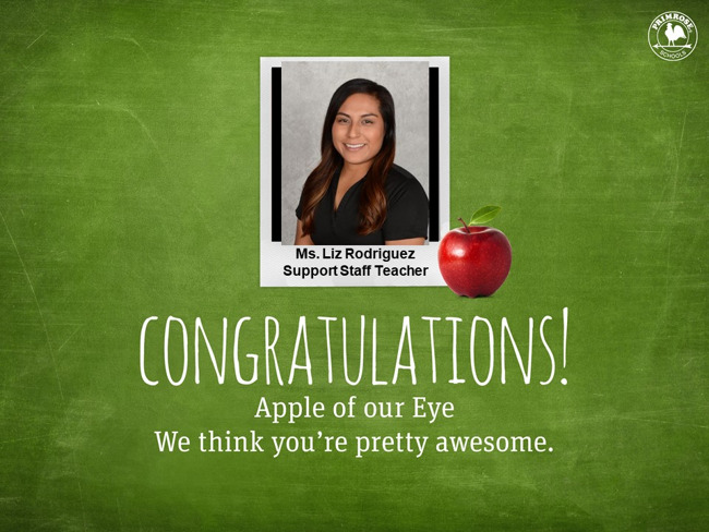 L. Rodriguez Apple of Our Eye