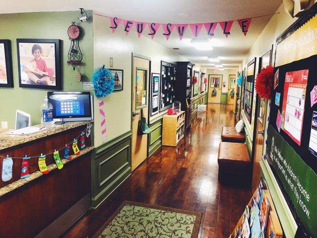 Dr. Seuss Week at Primrose of Highland Village