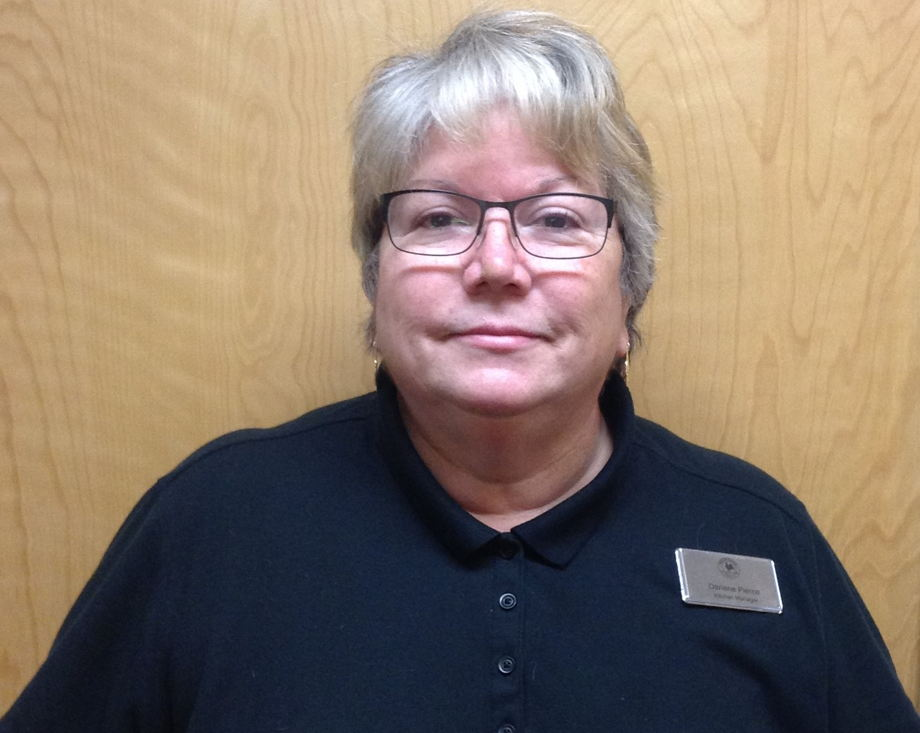 Mrs. Darlene Pierce , Kitchen Manager
