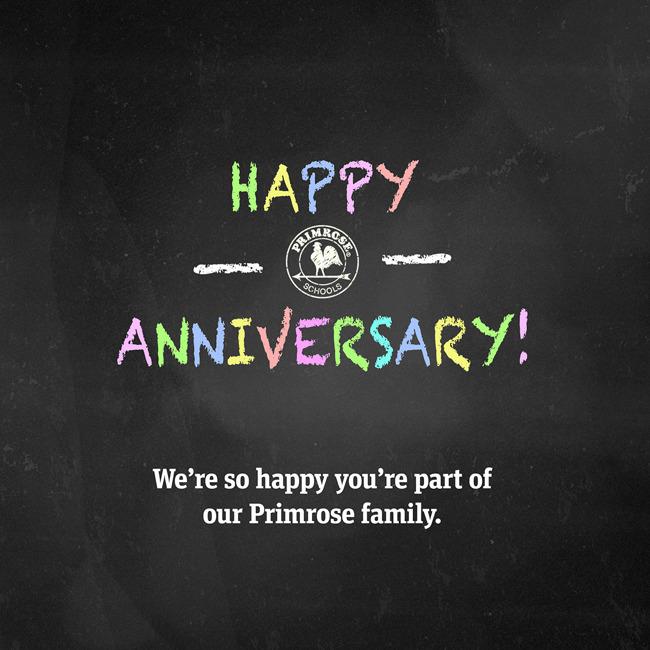 Happy Anniversary Teachers