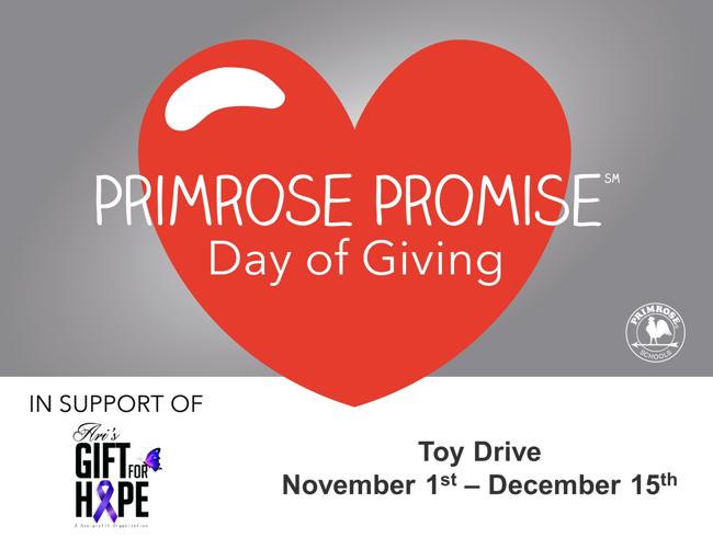 Ari's Gift of Hope Toy Drive
