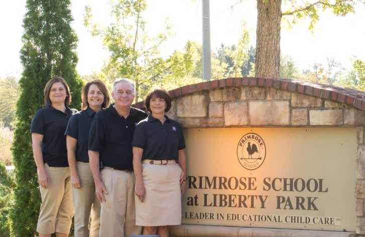 Franchise Owners of Primrose School Bill and Gayla Clark, Margaret O'Bryant and Rebecca Hurley