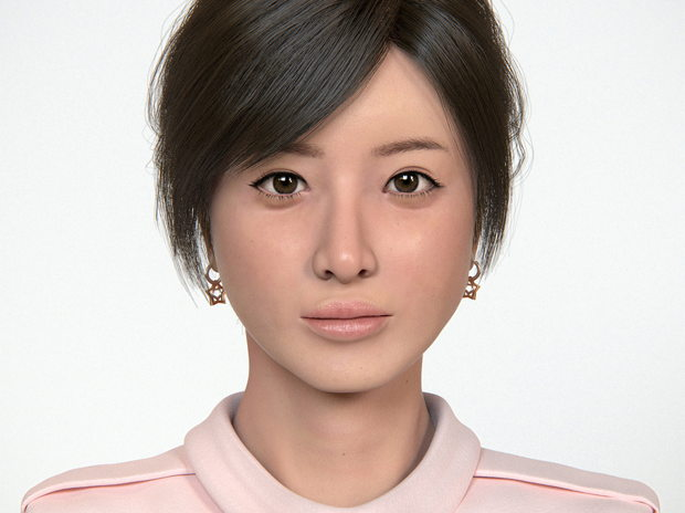 Actress, Realistic Portrait B