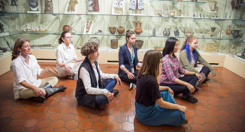 Looking Inward Meditative Art Tour