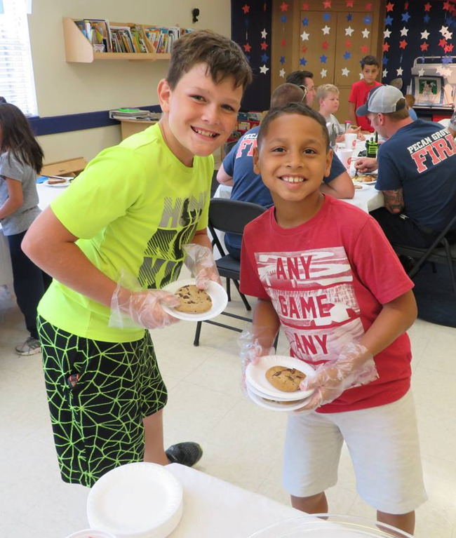 community helper luncheon
