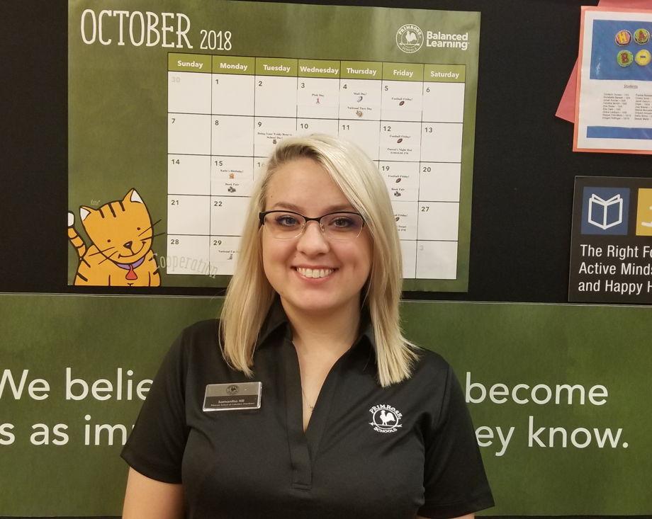 Ms. Samantha Hill , Early Preschool Teacher