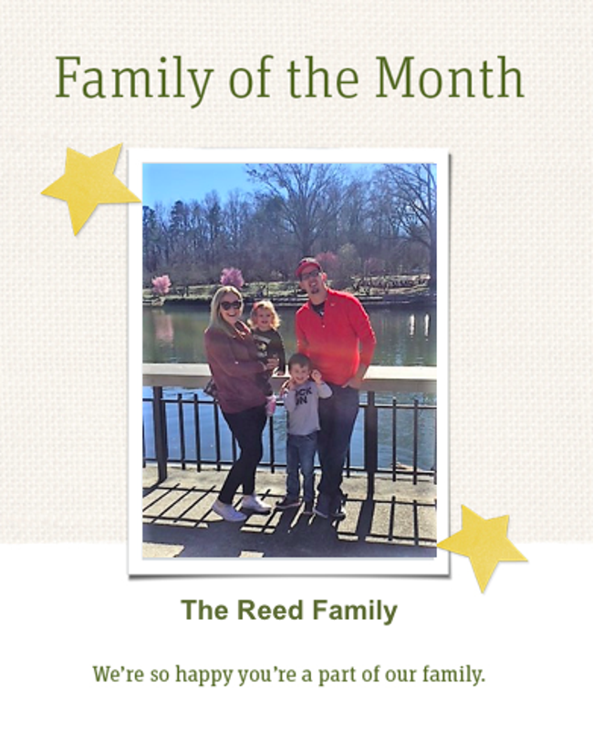 Family of the Month