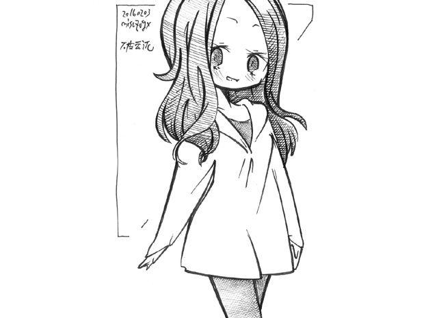 町で見かけた女の子2016