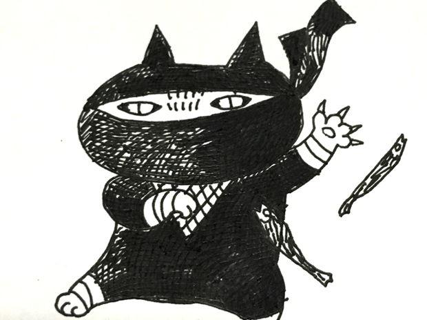 猫の日で忍者の日でもある