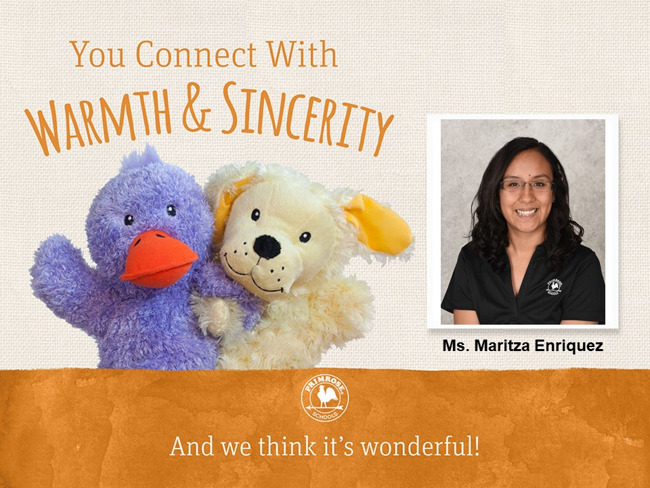Connect with Warmth and Sincerity