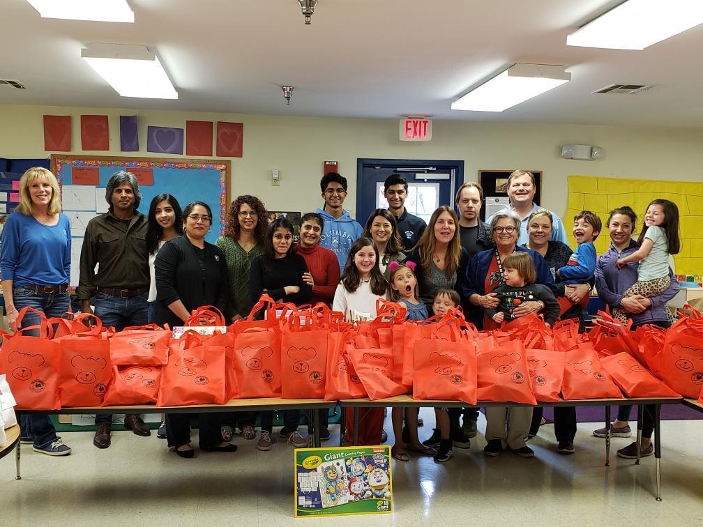 bags preschool gifts shelter