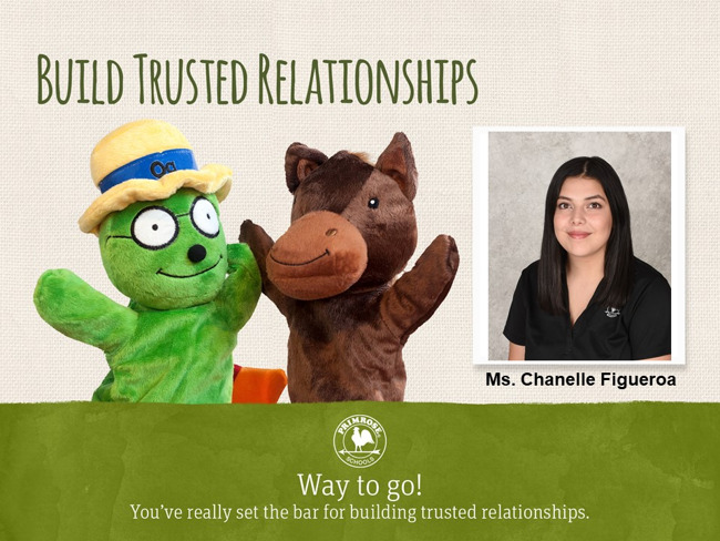 Build Trusted Relationships