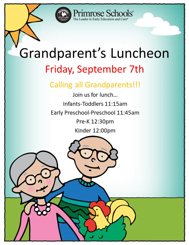 Grandparent's Lunch