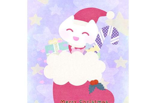 2018年 クリスマスカード「クリスマスブーツ」