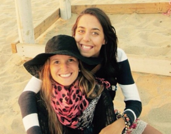 The right to backpacking, 'Marina and Maria Jose'
