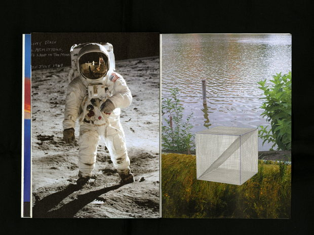 collage feat.Buzz Aldrin and Neil Alden Armstrong