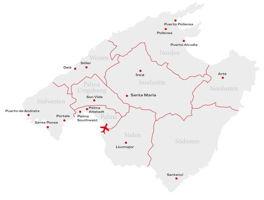 Standorte auf Mallorca
