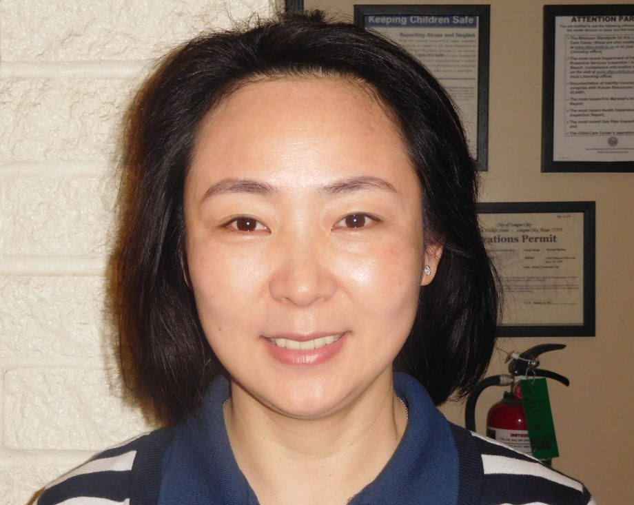 Ms. Ling, Assistant in the Older Infant Class