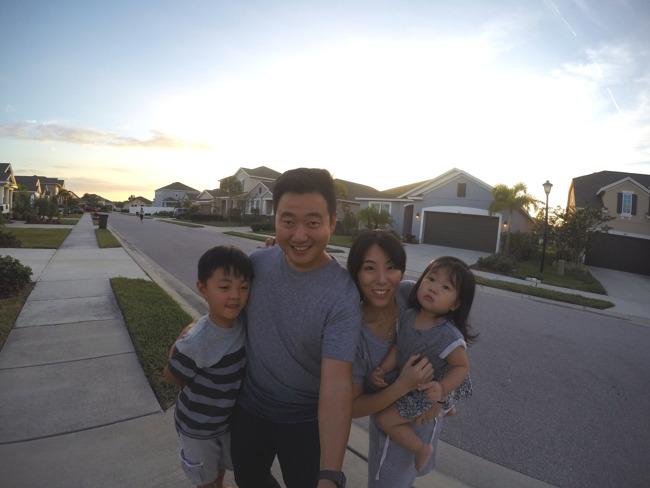 family photo of the Dokko family