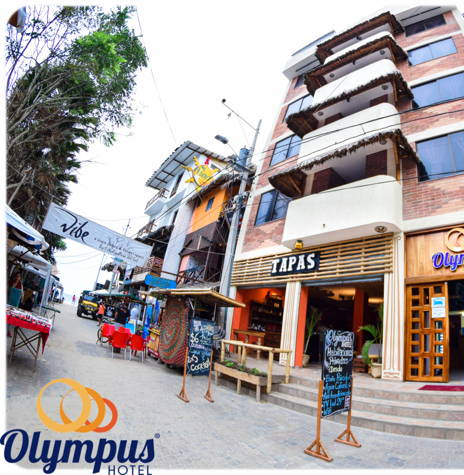 Style and Comfort Hotel Olympus :: Montañita !!