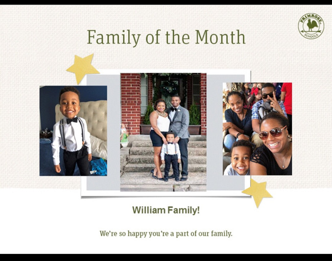 Family of the month!