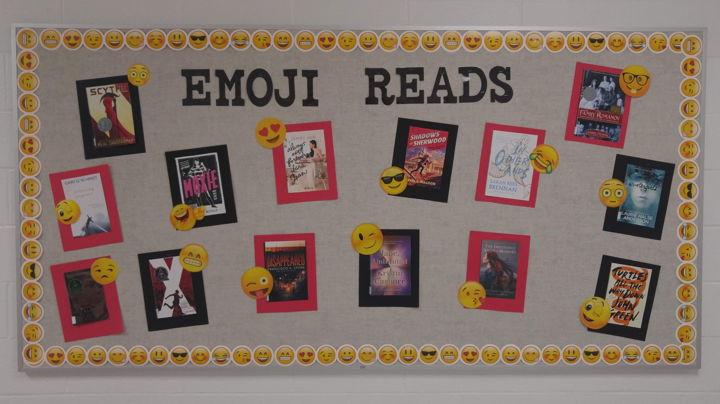 EMOJI READS Bulletin Board