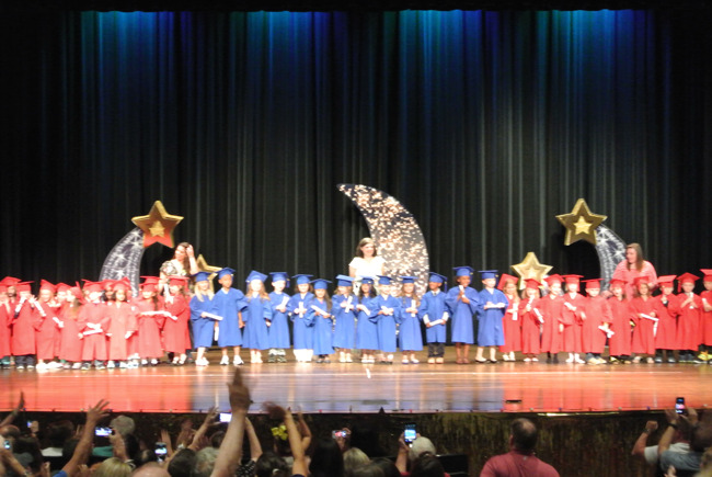 2018 Primrose East Allen PreK and Kindergarten Graduating Classes