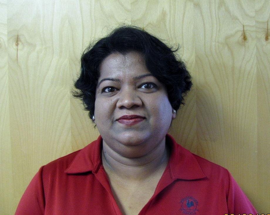 Prabeela Athiparambil , Infant Nursery Supervisor