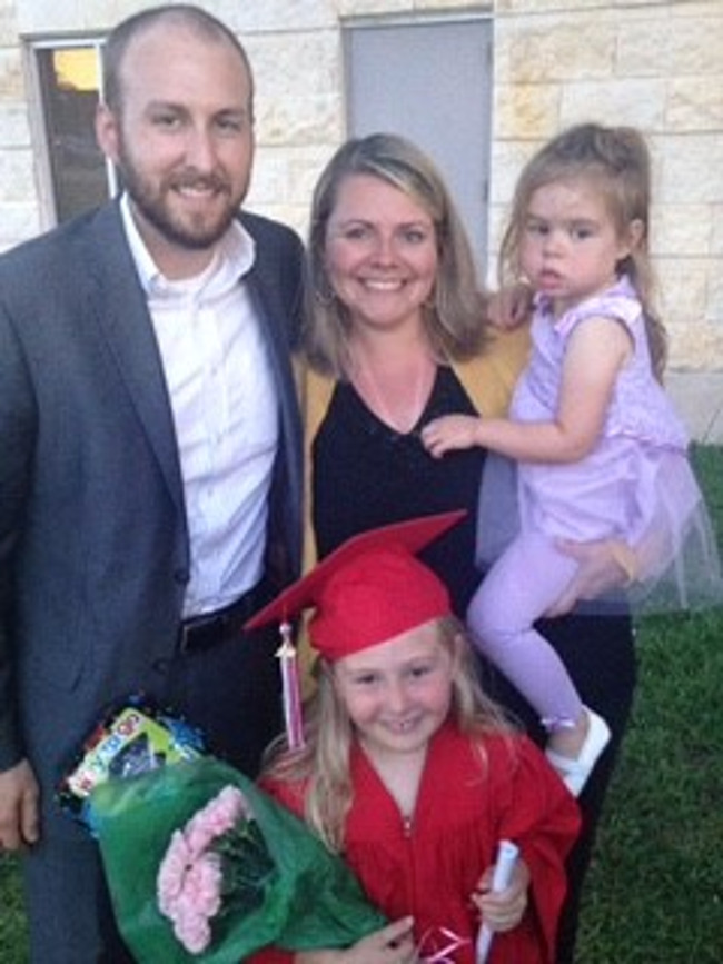 The Lammers family, family of the month for October