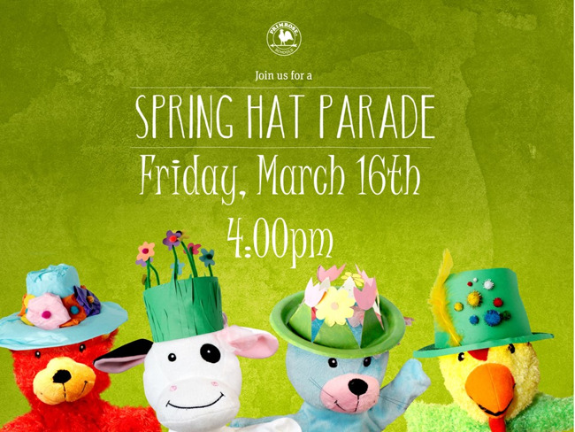 Spring Hat Parade