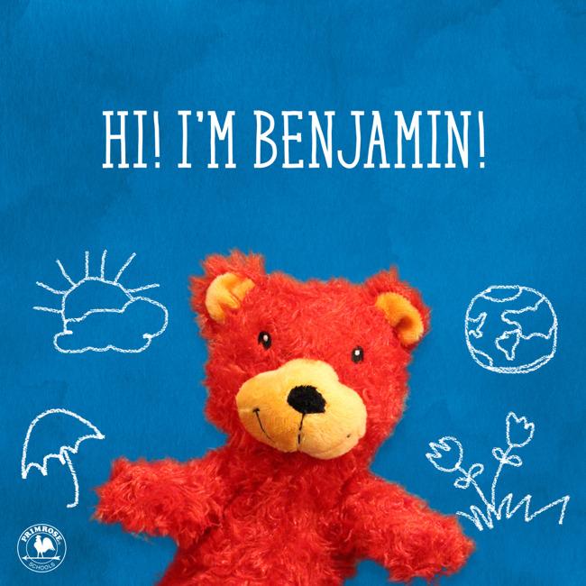 Benjamin's Birthday-Wear Red in his honor!