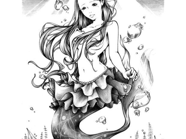 長月の人魚姫