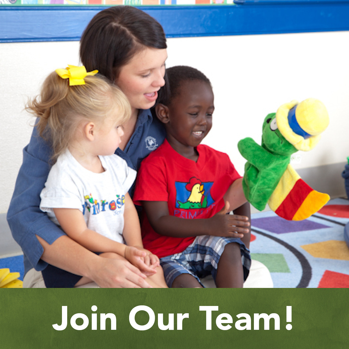 Join Our Team Primrose School Of Mount Pleasant Preschool And