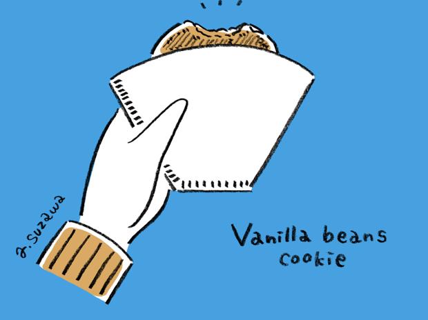ブルーボトルのクッキー