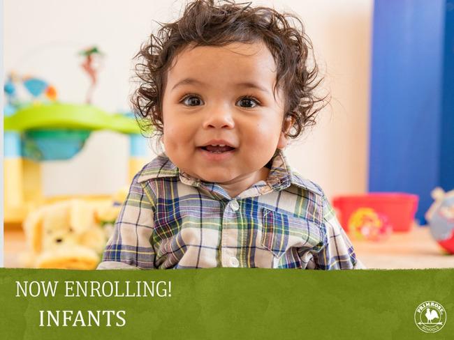 Now Enrolling Infants