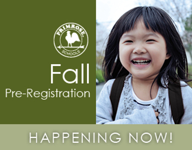 Fall Pre-Registration for Current Families