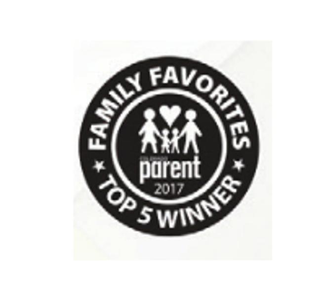 Family favorite top five winner logo