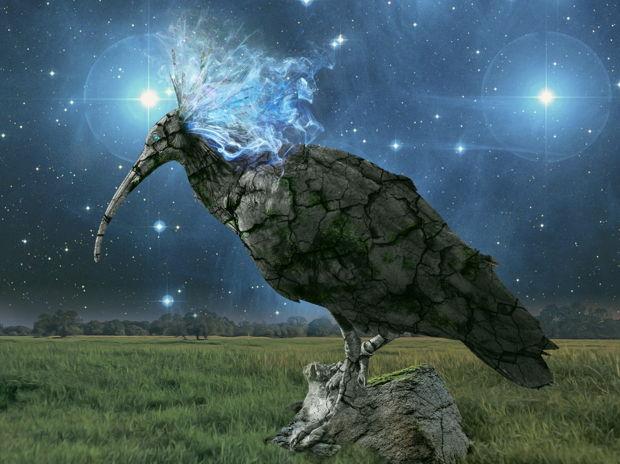 石ノ神鳥/God bird of stone