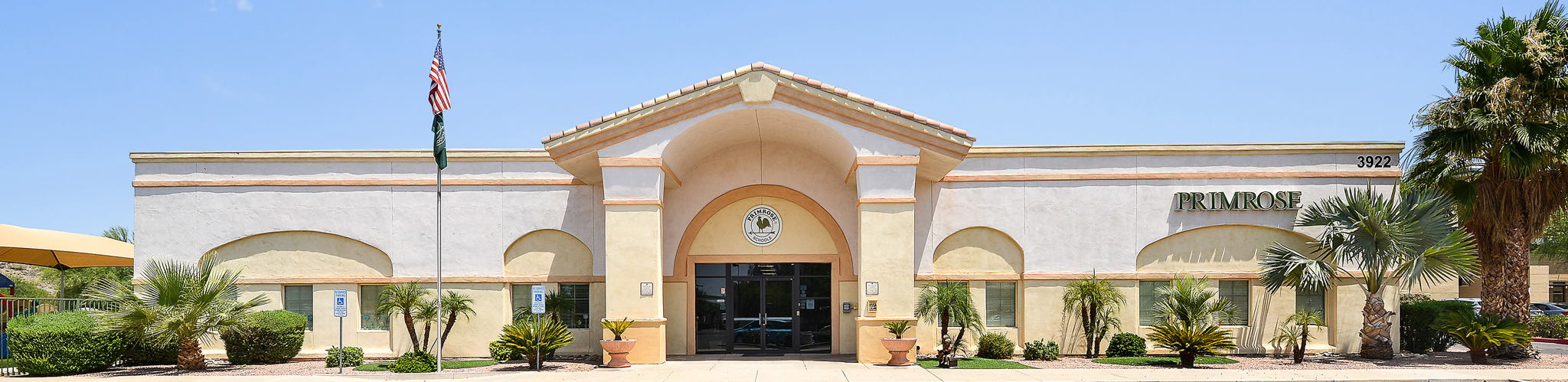 Exterior of a Primrose School of Ahwatukee