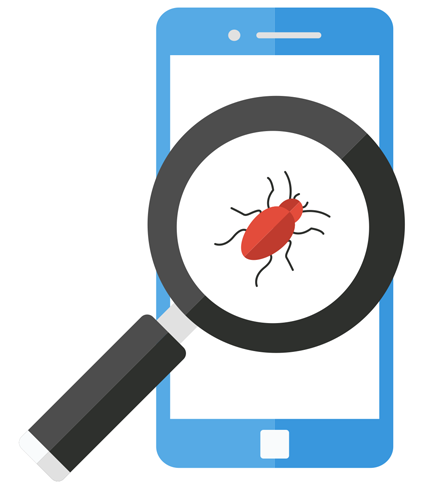 mobile application development company-bugs-gkmit