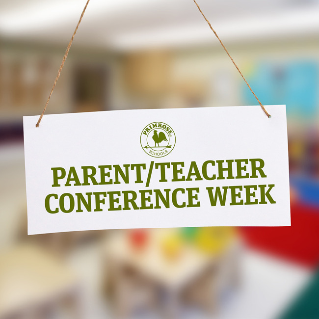 Parent teacher conference poster