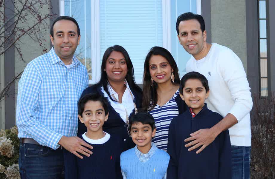 Franchise Owners of Primrose School Kal, Ami and Sunita Sanjanwala